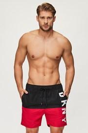 Черно-червени бански шорти DKNY Naxos