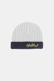 Бебешко шапка за момичета Babies Hello