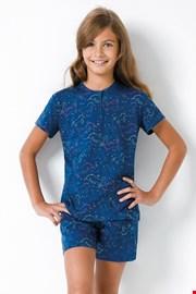 Синя пижама за момичета Jednorožec II
