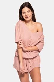 Дамска памучна пижама Rose къса