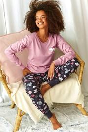 Дамска пижама Sonya розова