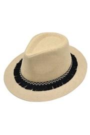 Дамска шапка с периферия Panama