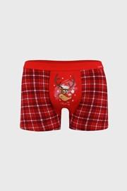 Червени коледни боксерки Reindeer