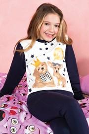 Пижама за момичета Hallo