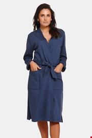 Дамски памучен халат Deep Blue