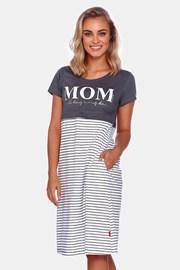 Нощница за бременни и кърмачки Mom