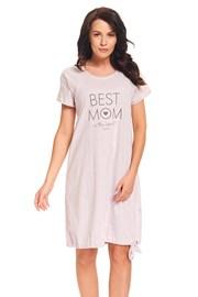 Нощничка за кърмещи майки Best Mom Pink