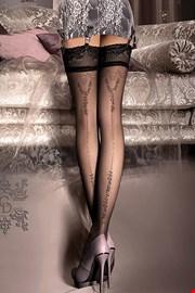 Луксозни чорапи за жартиери V collection 241