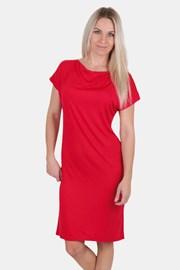 Дамска рокля EVONA Voda червена