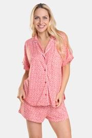 Дамска пижама DKNY Pink Logo