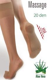 Три четвърти чорапи Massage 20 DEN