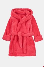 Халат за момичета червен