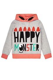 Спортно горнище за момичета Happy Monster