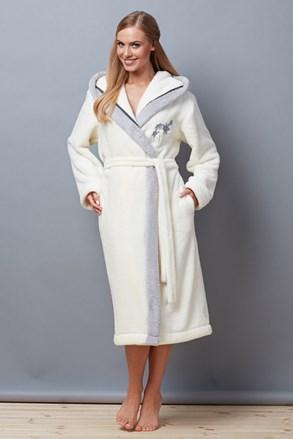 Дамски халат Mary Ecru