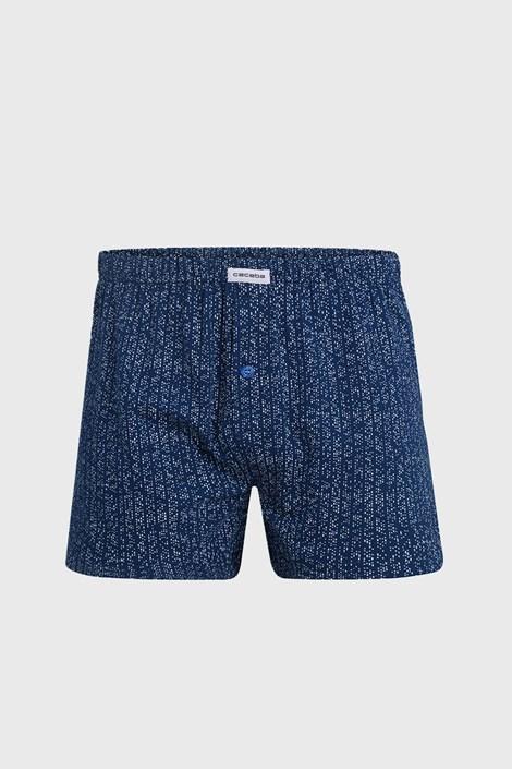Мъжки шорти Pure Cotton сини 5XL plus