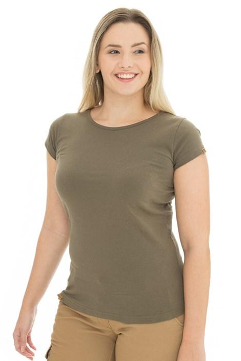 Дамска тениска цвят маслина Bushman Natalie II