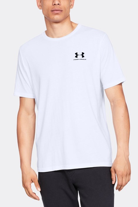 Бяла тениска Under Armour Sportstyle