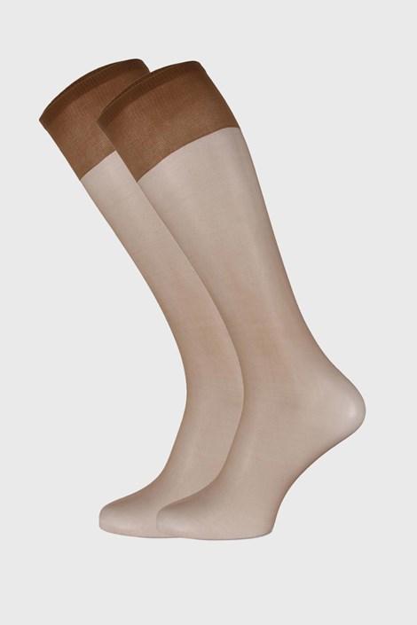 2 PACK силонови чорапи до под коляното 15 DEN