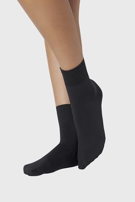 2 PACK дамски силонови къси чорапи 70 DEN