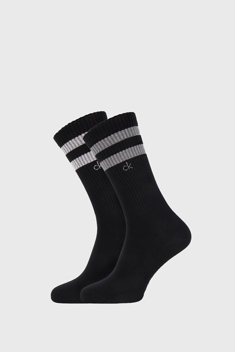 2 PACK черни чорапи Calvin Klein Maurice