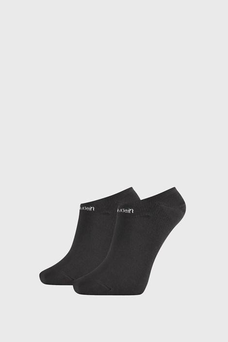 2 PACK черни дамски чорапи Calvin Klein Leanne
