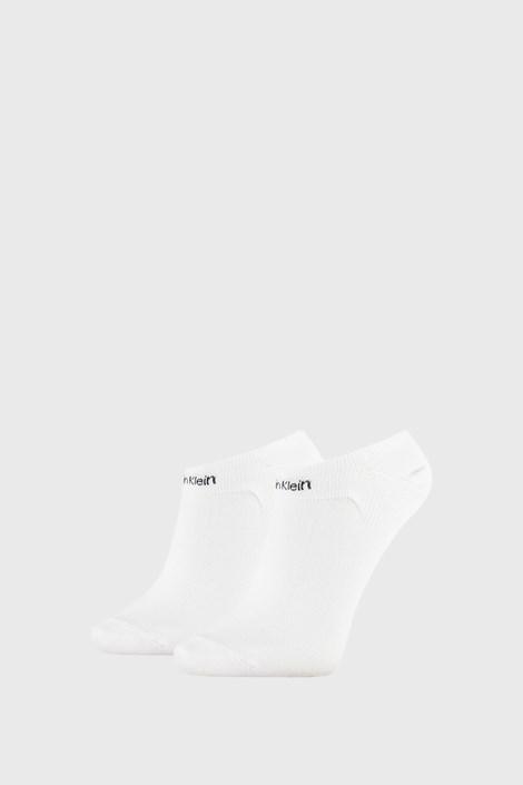 2 PACK бели дамски чорапи Calvin Klein Leanne