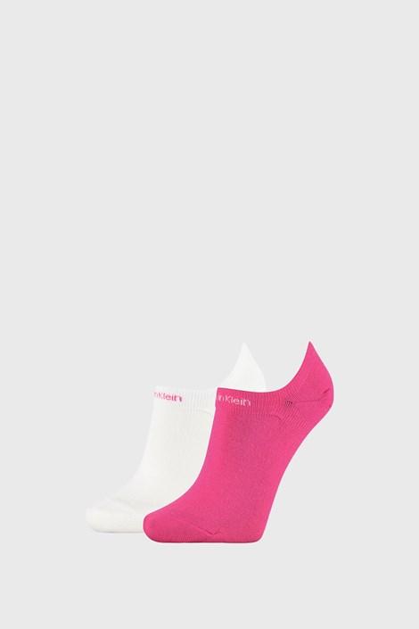 2 PACK розово-бели дамски чорапи Calvin Klein Leanne