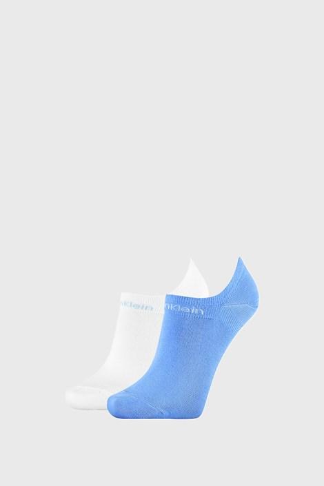2 PACK синьо-бели дамски чорапи Calvin Klein Leanne
