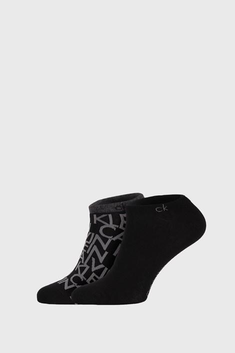 2 PACK черни чорапи Calvin Klein Deangelo