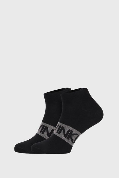 2 PACK черни чорапи Calvin Klein Dirk