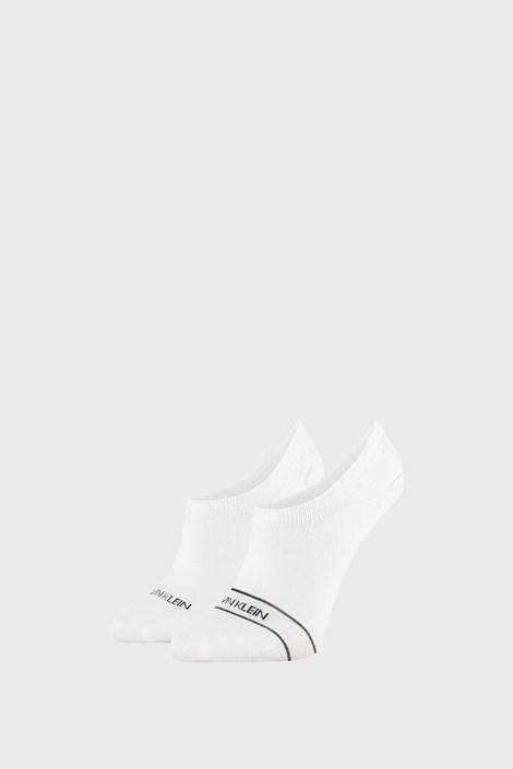 2 PACK бели памучни чорапи Calvin Klein Alice