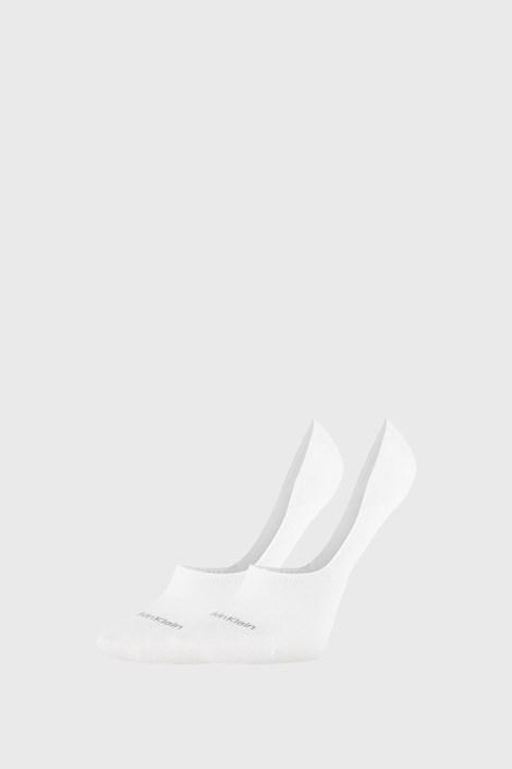 2 PACK бели дамски чорапи Calvin Klein Jessica