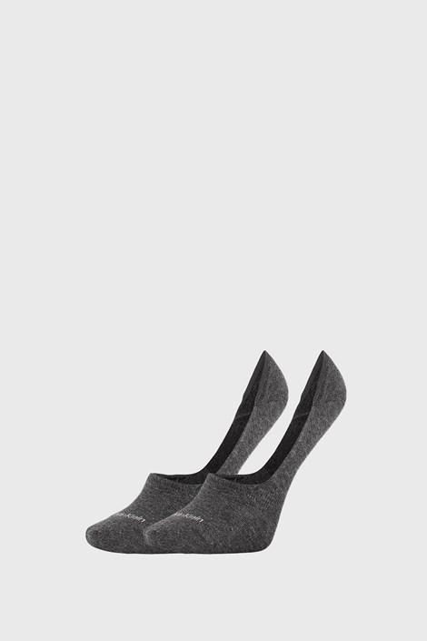 2 PACK сиви дамски чорапи Calvin Klein Jessica