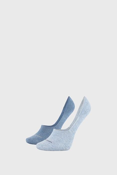 2 PACK сини дамски чорапи Calvin Klein Jessica