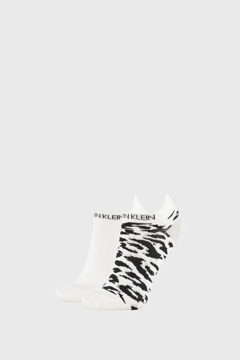 2 PACK бели дамски чорапи Calvin Klein Libby