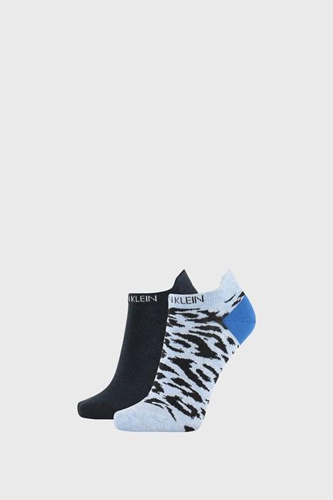 2 PACK сини дамски чорапи Calvin Klein Libby