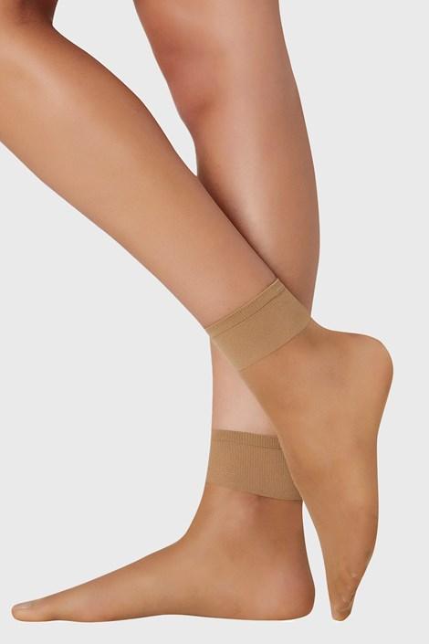 2 PACK дамски силонови чорапи 10 DEN