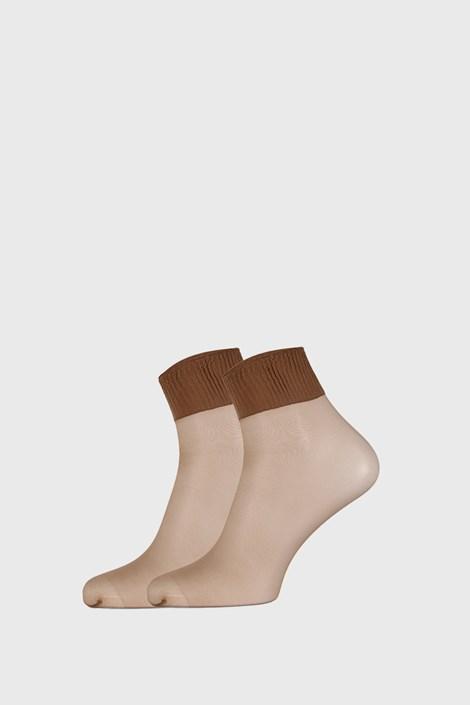 2 PACK силонови къси чорапи 6 DEN