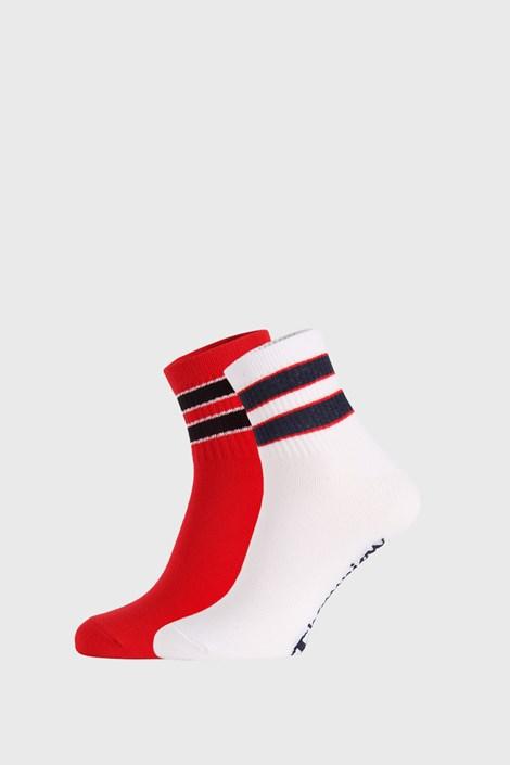 2 PACK червено-бели чорапи Champion Legacy