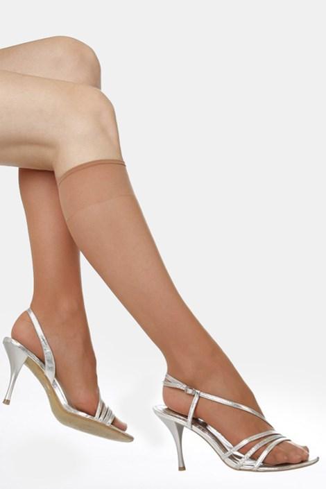 2 PACK силонови чорапи до под коляното Primana 20 DEN