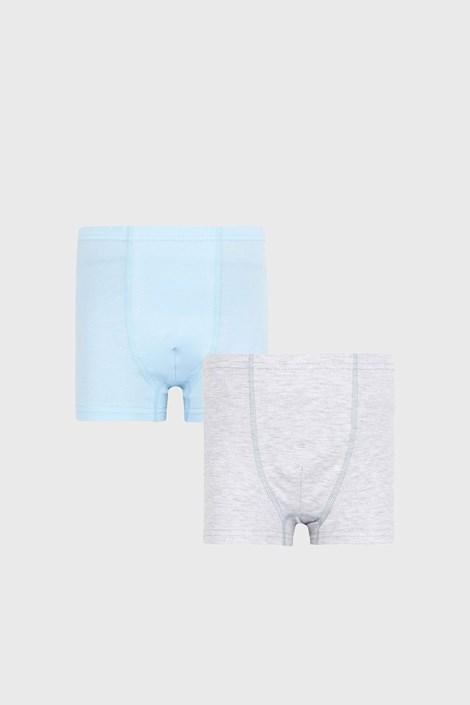 2 PACK синьо-сиви боксерки за момчета Basic