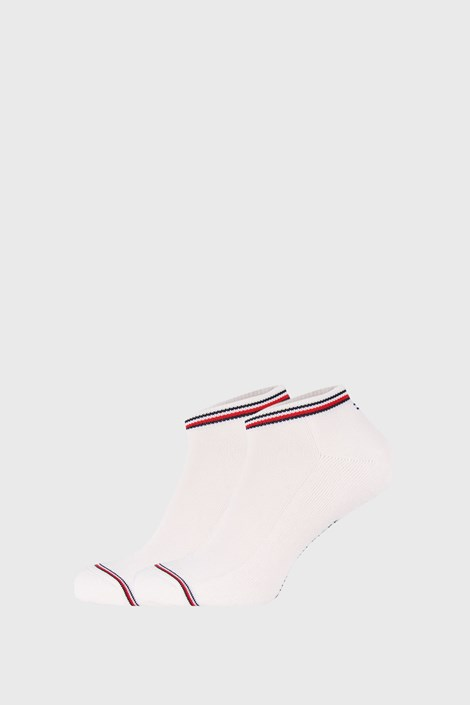 2 PACK бели чорапи Tommy Hilfiger Iconic Sneaker