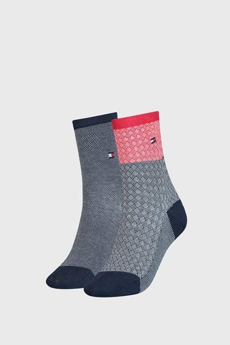 2 PACK дамски чорапи Tommy Hilfiger Argyle I