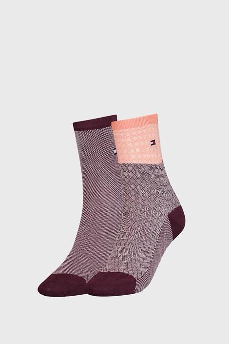 2 PACK дамски чорапи Tommy Hilfiger Argyle II