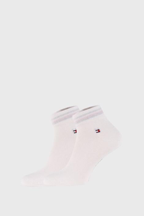 2 PACK бели чорапи Tommy Hilfiger Quarter