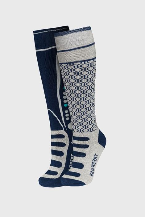 2 PACK чорапи за момчета до под коляното Concave šedý