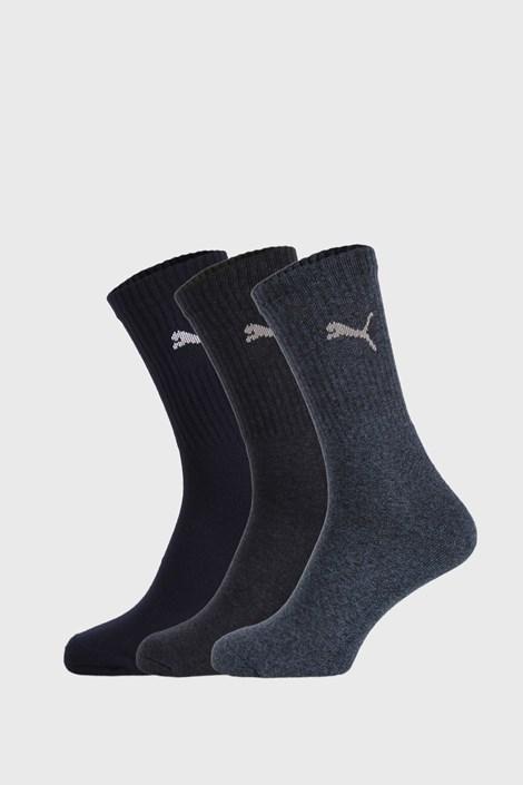 3 PACK тъмносини чорапи Puma Sport