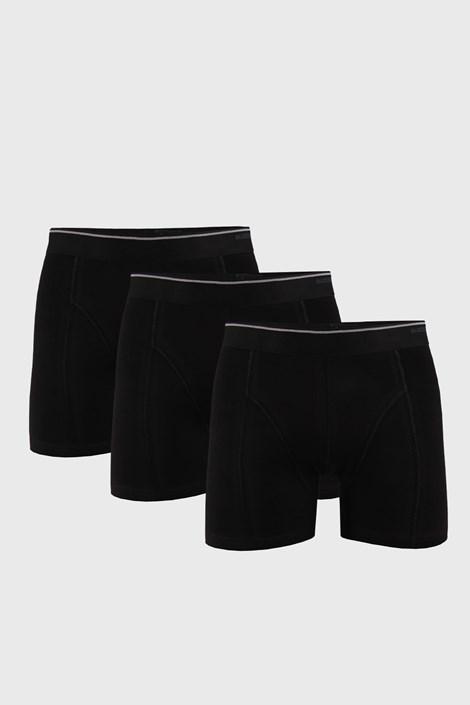 3 PACK черни боксерки Tender Cotton