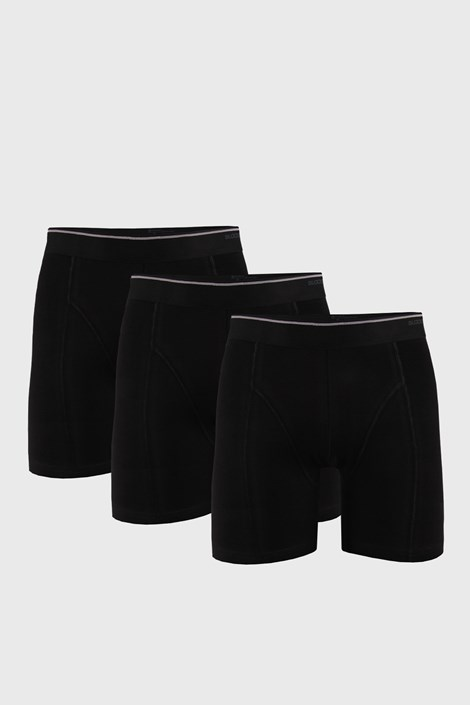 3 PACK черни боксерки Tender