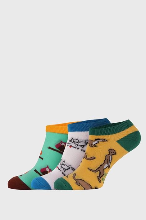 3 pack къси чорапи  Bellinda Crazy Animals